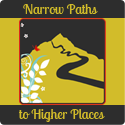 Narrow Paths to Higher Places blog button