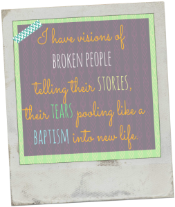baptism broken people